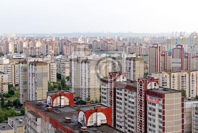 Housing estate in Kiev, Ukraine