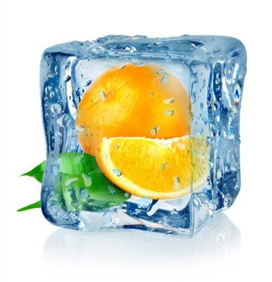 Ice cube et orange