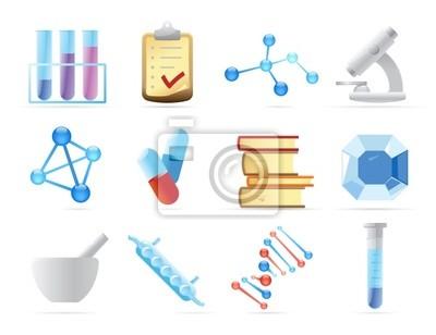 Icônes pour la chimie