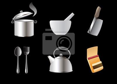 Icônes pour la cuisine