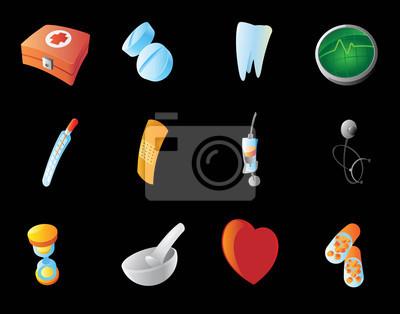 Icônes pour la médecine