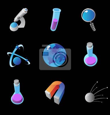 Icônes pour la science
