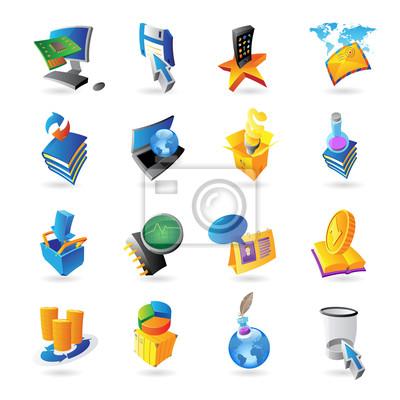 Icônes pour la technologie