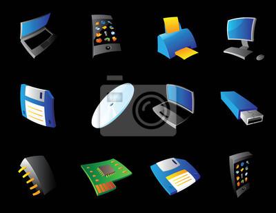 Icônes pour ordinateur et les périphériques