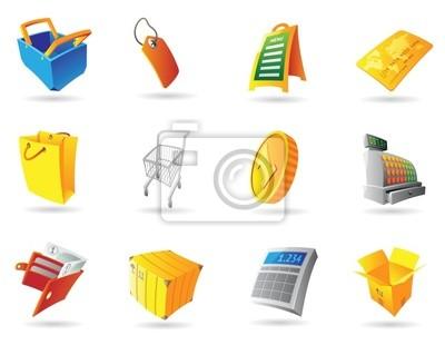 Icônes pour vente au détail