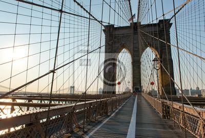 Iconic, pont, pont, Arches, Coucher soleil