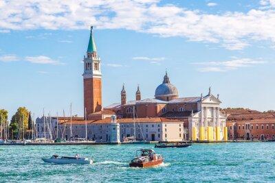 Sticker Île de San Giorgio à Venise, Italie