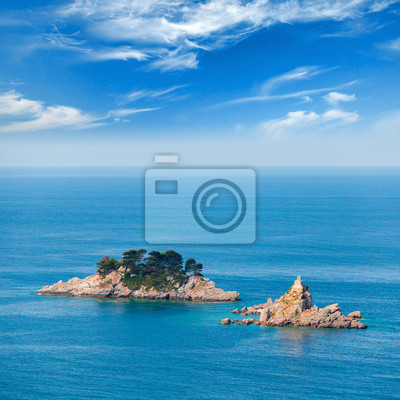 Îles Katic et Sveta Nedjelja dans la mer Adriatique, le Monténégro
