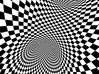Sticker Illusion abstraite