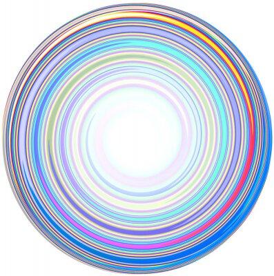 Sticker illustration de résumé Mandala