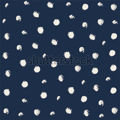 Sticker Impression de shibori colorant vecteur cravate. Modèle dessiné de main sans soudure. Encre à fond japonais. Carreau de papier peint batik moderne. Aquarelle toile de fond sans fin.