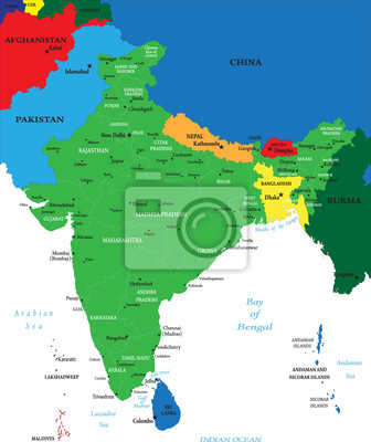 Inde carte