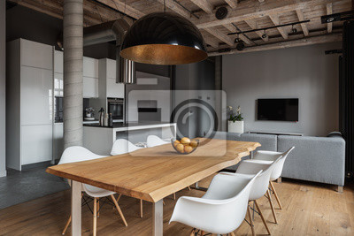 Sticker Industrial home interior