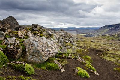 Islande paysage pierre