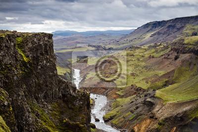 Islande paysage volcanique