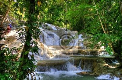Jamaïque - Dunn rivière Cascades (repère)
