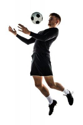 Sticker Jeune, blonde, jouer, football