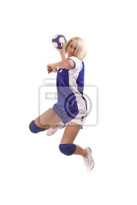 joueur de handball