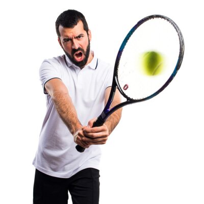 Sticker Joueur de tennis
