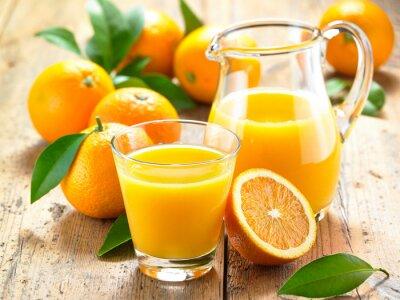 Sticker Jus d'orange