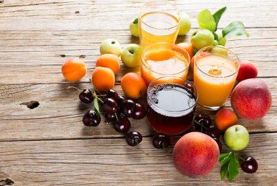 Sticker Jus de fruits frais