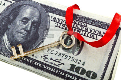 Key avec un dollars