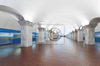 Kiev, la station de métro