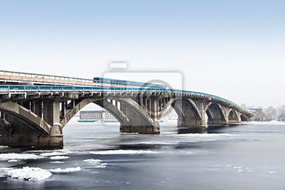 Kiev, Subway bridge