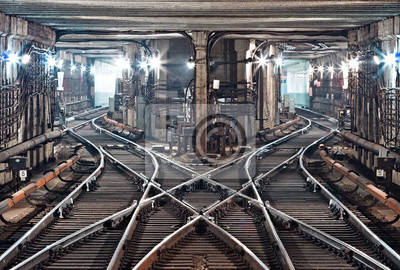 Kiev, tunnel de métro
