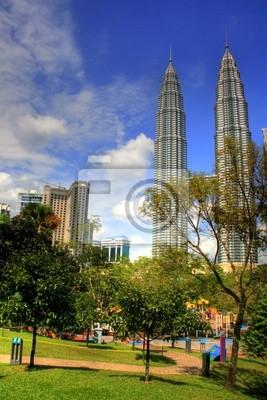 Kuala Lumpur - Park, dans le centre-ville