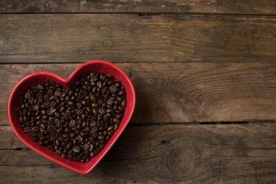 Sticker L'amour pour le café,