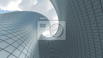 Sticker L'architecture contemporaine