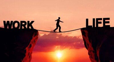 Sticker L'équilibre travail-vie
