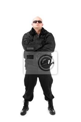L'homme en noir