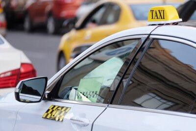 Sticker L'image du taxi