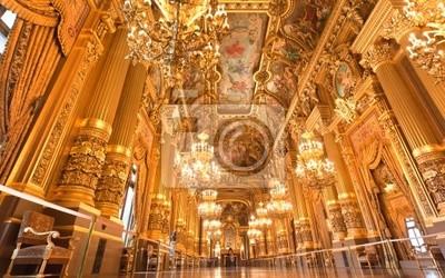 Sticker l'intérieur du grand opéra à Paris