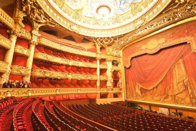 Sticker l'intérieur du Grand Opera à Paris
