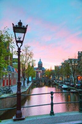 Sticker La basilique de Saint-Nicolas à Amsterdam