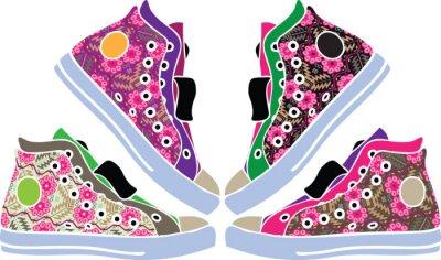 Sticker la conception de chaussures de sport