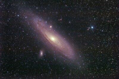 Sticker la galassia di Andromède