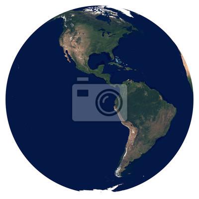 La Terre depuis l'espace. Éléments de cette image fournis par la NASA.