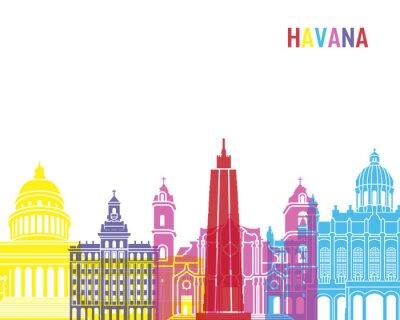 Sticker La ville de La Havane