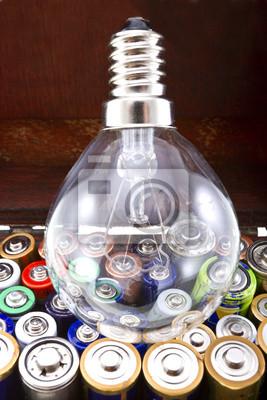 Lampe et batteries
