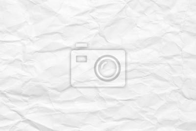 Sticker Le fond est blanc. Texture de papier avec des plis et des bosses, vieux et délabré.