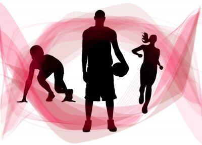le sport trio rosso
