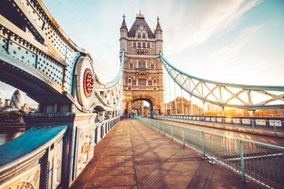 Sticker Le Tower Bridge à Londres
