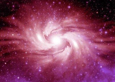 Sticker Les étoiles, la poussière et la nébuleuse de gaz