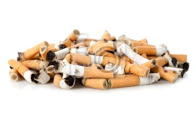 Les mégots de cigarettes