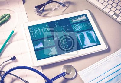 Sticker Les technologies numériques en médecine