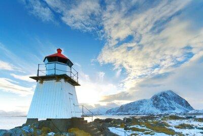 Sticker Lighthouse in Lofoten